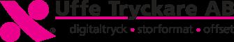 Uffe Tryckare i Upplands Väsby Logo